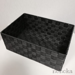 PP 素材収納バスケット Lサイズ(300円)