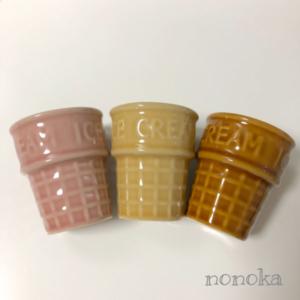 セリアのカップアイスクリームの食器