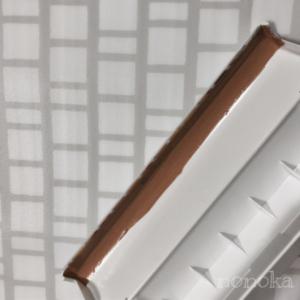 セリアのラップケースに刃を貼り付ける