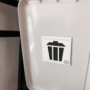 セリアの100均消臭剤ゴミ箱用